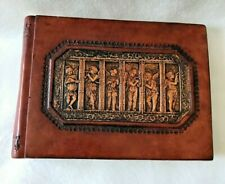 Leather Photo Album Museum Company Angelic Musicians 8.5 x  6