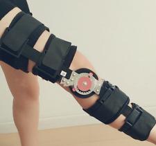 Medical patellar knee support leg Fixation Brace Knee Fracture Stent