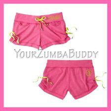 Official Zumba Z Love Lollipop Pink Shorts Medium BNWT