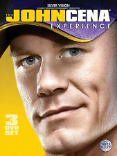 WWE JOHN CENA The John Cena Experience 3x DVD DEUTSCH NEU
