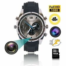 HD 1080P SPY Watch Camera 32GB Waterproof Wrist Record Video DVR Night Vision RT