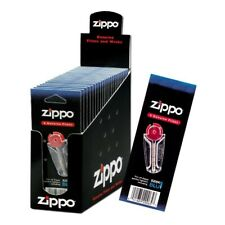 More details for genuine zippo lighter flint refill accessories 6 flints in a cart - pack of 24