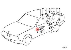 Genuine BMW M5 E32 E34 518i 520i 524td 525i Actuator For Front Door 51268356065