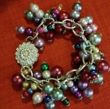 Bracelet en perles avec fermoir magnétique