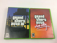 Original Xbox - Grand Theft Auto Double Pack w/ Manuals & Maps - Used, Free Ship