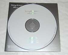Genuine Original Sony Ericsson W595i Mobile Phone CD Software / PC Suite