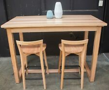 Anglesea - Solid Messmate Timber - Bar Table