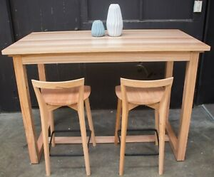 Anglesea Bar Table - Solid Messmate Timber