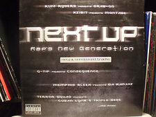 NEXT UP - RAP'S NEW GENERATION (VINYL EP) 2000  RARE!!  Q-TIP + XZIBIT + TRAGEGY