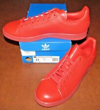 Adidas STAN SMITH ADICOLOR S80248 (RED) SIZE 11 - NEW IN BOX>FREE SHIPPING!