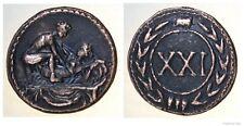 Roman Spintria Brothel Entry Token XXI Bronze