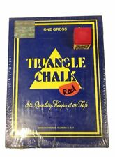 RED CHALK, Triangle Brand, 1 Gross 144 - RED Color