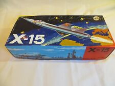JOUSTRA Sanchis X-15 Rocket NASA Aircraft Friction Powered Space Toy Plane