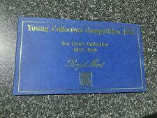 More details for royal mint young collectors competition large 10p coin folder 1947 - 1980