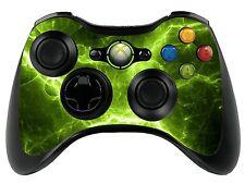 Verde ELÉCTRICO Xbox 360 Control Remoto controller/gamepad Skin / Cover / Vinilo xbr27