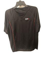 Louis Garneau Cycling Jersey - Black, Red - Size 2XL    Mens Short Sleeve