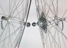 "MAILLARD HELICOMATIC SIMPLEX RIGIDA BICYCLE 6 SPEED 27 X 1 1/4"" WHEEL SET 122 MM"