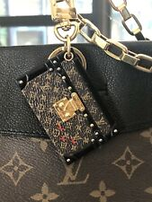 Louis Vuitton Petite Malle Bag / Trunk PURSE CHARM, KEY RING & HOOK - M78618