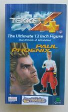 Namco's Tekken 4 12'' PAUL PHOENIX action figure with real cloth outfit by EPOCH