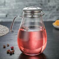 68 Ounces Glass Pitcher with Lid Juice Jar and Iced Tea Pitcher