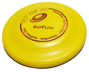 Hyperflite Sofflite Adult Soft Dog Frisbee Soft Bite Dog Disc Senior Dog Flyer