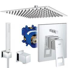 Unterputz Duschsystem, Kopfbrause 300 x 300 mm, Grohe Eurocube, Regendusche Set
