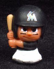 """MLB TEENYMATES ~ 1"""" Batter Figure ~ Series 1 ~ Miami Marlins ~ Minifigure"""