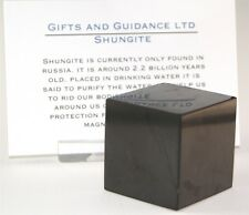 Shungite Shungit Cube 30mm Electromagnetic Protection
