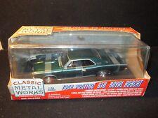 Classic Metal Works 1966 Pontiac GTO Royal Bobcat 1:24 - Twilight Turquoise