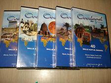 OPERA COMPLETA 5 DVD OVERLAND 6 WORLD TRUCK EXPEDITION DALLE ALPI AL SAHARA