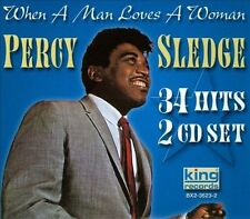 PERCY SLEDGE R&B Pop & Country 34 Hits When A Man Loves A Woman NEW 2  CD Set