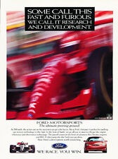 1997 Ford Taurus SHO - race win -  Classic Vintage Car Advertisement Ad J53