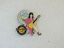 ATHENS,Hard Rock Cafe Pin,Super Sexy Spy Girl