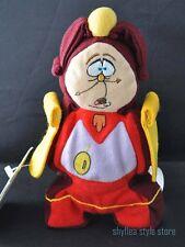 Cogsworth Disney Store Mini Bean Bag Beauty The Beast Grandfather Clock Plush