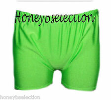 Neon Flo Stretch Hot Pants Tutu Shorts Size M -XL Lycra Hotpants Short Accessory