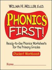 Phonics First! : Ready-to-Use Phonics Worksheets for the Primary Grades by...