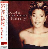 NICOLE HENRY WITH EDDIE HIGGINS TRIO-TEACH ME TONIGHT-JAPAN MINI LP CD C75