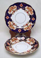 Royal Albert Heirloom China  Imari Cobalt Rust Gold Saucer & Plate