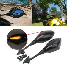 Motorcycle LED Turn Signal Side Mirrors FOR 2004-2010 SUZUKI GSXR GSX R 600 750