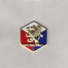 USA 46th INFANTRY DIVISION crest DUI badge CB Clutchback G-23