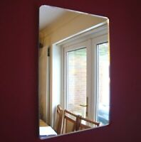 Rounded Corner Rectangle Mirrors (Acrylic Mirror, Several Sizes Available)