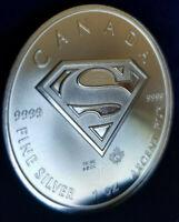 2016 $5 Silver Canadian Superman 1 oz Brilliant Uncirculated .9999!! Fine silver