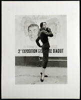 "Modefotografie. ""Paris"", 1954/1998. F.C. GUNDLACH (*1926 D), handsigniert"