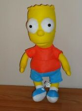 "The Simpsons Bart 15"" stuffed plush Doll by Toy Factory 2016"