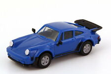 1:87 Porsche 911 turbo royal blue blue blue - herpa 2060
