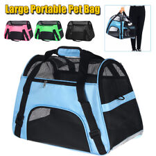 Pet Carrier Bag Portable Large Cat Dog Comfort Travel Tote Cage Airline  ι ρ