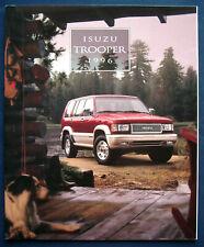 Prospekt brochure 1996 Isuzu Trooper (USA)