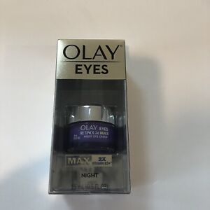 New Olay Retinol 24. MAX Eyes (0.5OZ) 15ml  Max 2x Vitamin B3+ Night