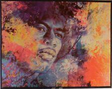 Jimi Hendrix Super Rare Memorial 1945-1970 Poster 1970