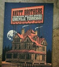 Avett Brothers Knoxville, TN Poster 10/27/19